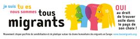 Banderole TousMigrants