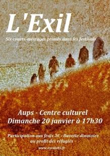 affiche Exil